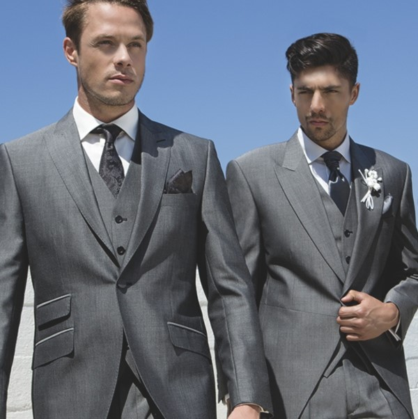 Charcoal Grey Lounge Suit